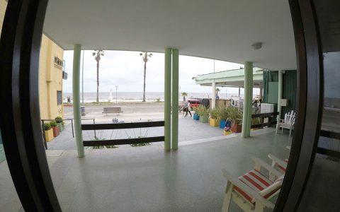 Vista Exterior Hotel Danae